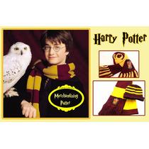 Bufanda De Harry Potter. Casa Gryffindor. Dos Vuelta, Lana