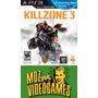 Killzone 3 - Ps3 - Físico - Mdz Videogames
