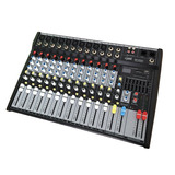 Consola Audio E-sound Mp-1202u Efectos 12 Canales Usb Sd Mp3