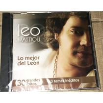 Cd Leo Mattioli Lo Mejor Del León Nuevo +cd De Regalo