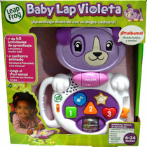 Baby Lap Violeta Interactivo De Leap Frog -minijuegosnet