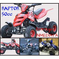 Cuatriciclo 50 Cc Mini Raptor 0 Km 2016