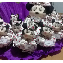 Souvenirs Minnie/mickey Mouse Soft (bautismo/cumpleaños)