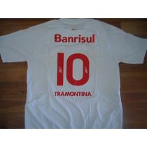 Camiseta Inter (porto Alegre) Reebok Banrisul Utileria # 10!