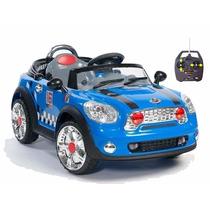 Auto A Bateria Mini Cooper,control Remoto,luces,mp3,fm,jeep