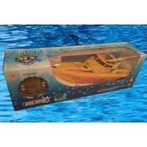 Lancha Bote Agua A Radio Control Remoto Rc Pileta Rio