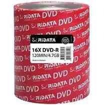 Dvd - R Ridata 4.7gb 16x Oferta X100 Unidades Estampados