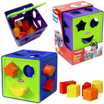 Cubo Encastre Bebé Playskool Juguete Formas Geométricas
