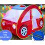 Casa Auto Plegable Niños Juegos Pelotero Carpa + 100 Pelotas