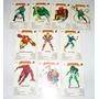 Lote De 10 Cartas Naipes Cromy Super Heroes 1985