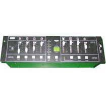 Consola Potenciada Dimer 4 Canales 3200w Programas Out
