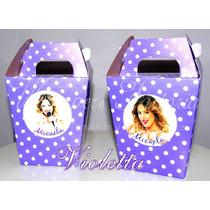 Cajitas Para Golosinas -violetta, Rapunzel, Barbie, Kitty