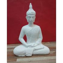 Buda En Yeso De 28 Cm.de Alto Para Pintar !!