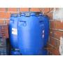 Tacho Tanque Tambor De 200 Litros De Plástico Azul Muy Bueno