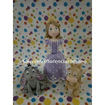 Princesa Sofia Y Amigos.adorno De Torta Y Souvenirs
