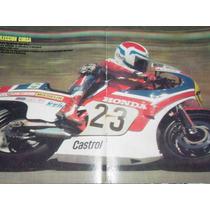 Freddie Spencer Moto Honda Ns500 Poster Motociclismo