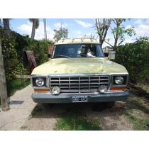 Ford F100 1979 Totalmente Original