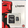 Memoria Micro Sd 16 Gb Blister Sellado Kingston Clase 10