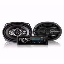 Stereo B52 Mp3/sd/usb/aux + Jgo Parl. 6 X 9 5 Vias 400w