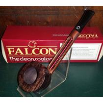 Pipa Falcon Recta Con Cazoleta Plymouth Made In England