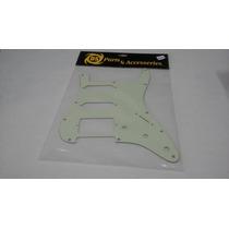 Pickguard Ds Pickups Para Stratocaster Color Verde Menta