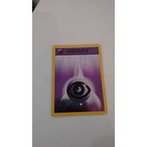 Cartas Pokemon Energia Psiquica Promo Foil Mint