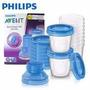 Nuevos! Philips Avent Vasos De Almacenamiento Leche Papilla