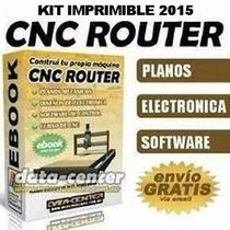Kit Router Cnc + Catia V6+ Gibbscam + Envio Gratis!