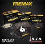 Jgo.pastillas Freno Fremax Del Fiat 147 Hasta 1991 2 Agujero