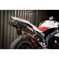 Escape Deportivo Yamaha R1 Z4 Carbono Bajo Colin Calidad Ira