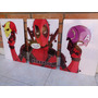 Deadpool Red Marvel Universe Cuadros Tripticos X Men Comics