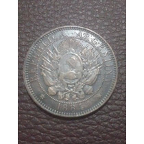 1884 - 2 Centavos De Patacon, De Cobre - Muy Bueno