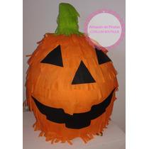 Piñata Calabaza Halloween, Cumples Tematicos!