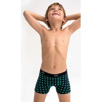 Boxer Niño - Nene Xy Algodón Y Lycra Talles 2 Al 12