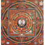 Cuadro De Mandala Impreso En Canvas Sobre Bastidor, 50x53