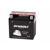 Bateria Motos Dynavolt Dtx5l-bs ( Ytx5l-bs) 12v 4ah