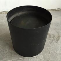 Sombrero Tiraje De Hogar O Parrilla - Chapa Gruesa (negro)