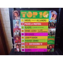Vinilo Top 10 Vol 2 - Leales Alejandro Cartageneros Etc