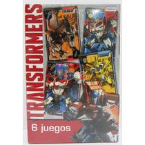 Transformers Hasbro - 6 Juegos En 1 Y Más Para Jugar En Flia