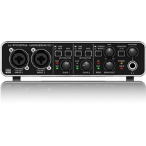 Behringer Umc204hd Interface Audio Usb 2.0 192khz