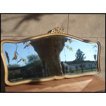 Remate Villa Lia Antiguo Espejo Frances De Comedor Biselado