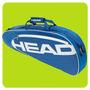 Bolso Raquetero Head Elite Pro Para 3 Raquetas Tenis Local