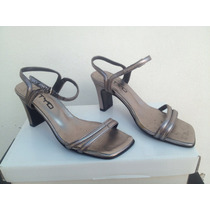 Sandalias Color Peltre N 36
