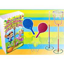 Orbital Tenis+ Aro De Basquet!!! Pelota Paleta Juegos