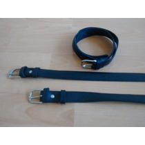 Cinturones Escolares Negros Cuero. Super Oferta!!