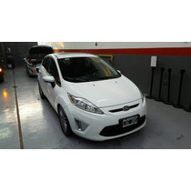 Ford Fiesta Kinetic Design Titanium 2012 Blanco Impecable