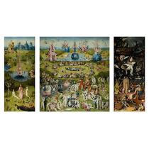 Lamina - El Jardin De Las Delicias - Bosch - 90 X 50 Cm.