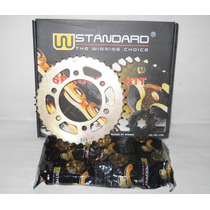 Kit De Transmision Honda New Wave Standard - En Fas Motos.