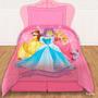 Acolchado Princesas Disney Original Piñata 1 1/2 Plazas