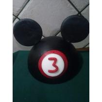 Adorno Para Torta ,orejas Mickey-minie( La Casa,amigos )